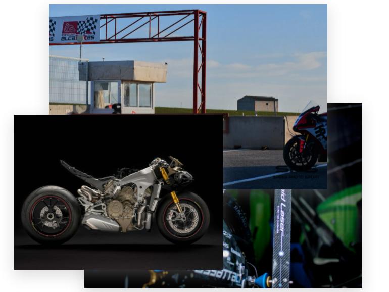 AJUSTE DE GEOMETRÍAS ESPECIAL CIRCUITO Usuario Motocicleta
