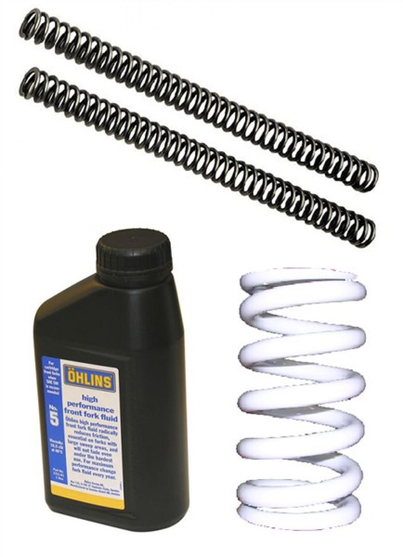 Kit Muelle Amortiguador+Horquilla +aceite GUZZI Spor