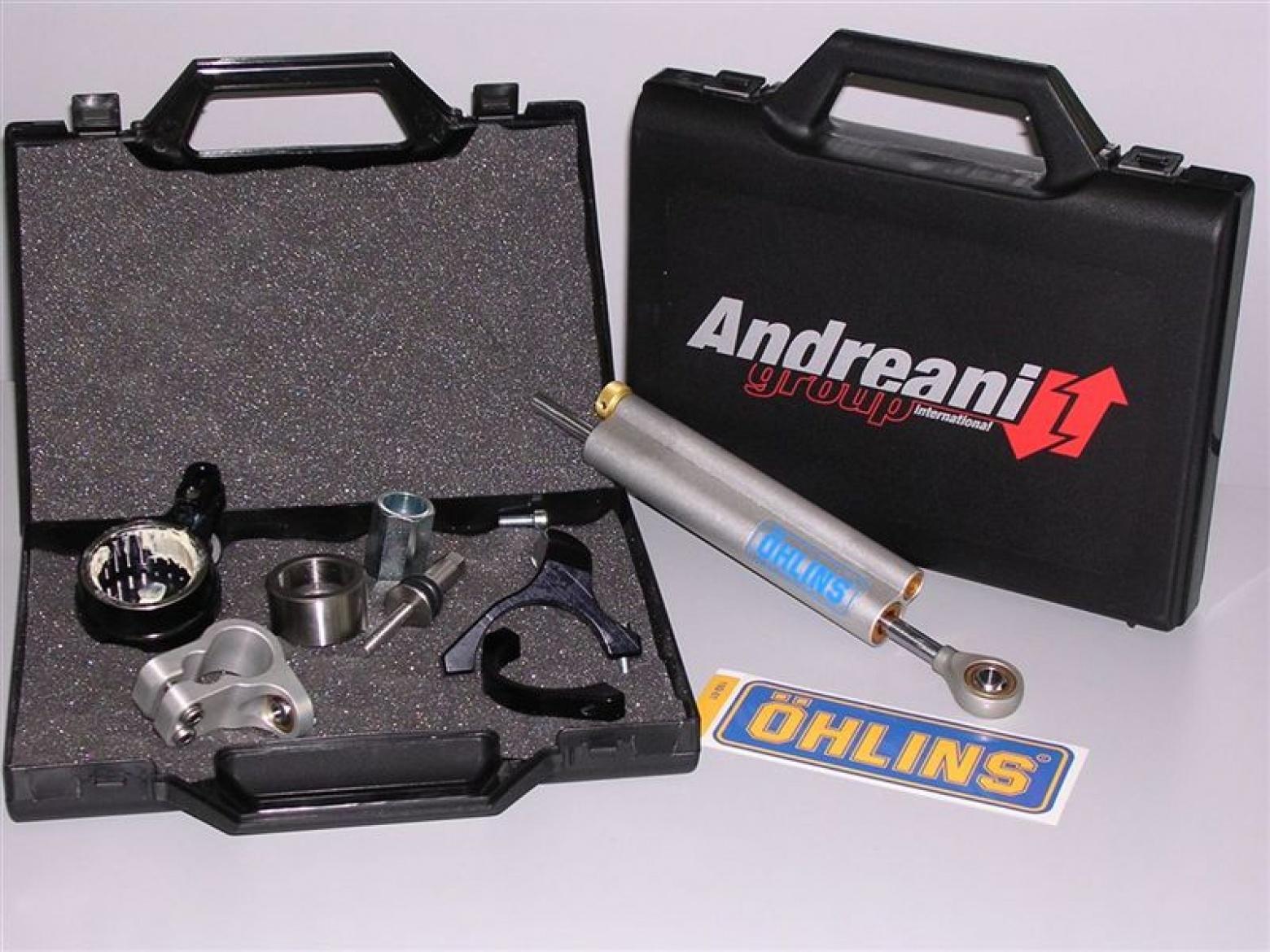 Kit Sujeción Amortiguador Dirección lineal R6 2