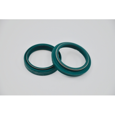 "Kit retenes (retenes+guardapolvos)  ZF SACHS 43mm ""COLOR VERDE"""